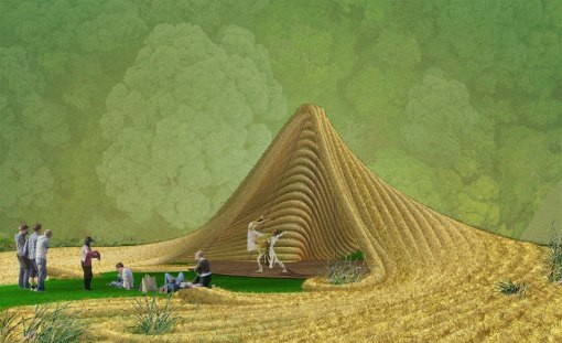 "What Antonio Torres' ""living ampitheater"" will look like. Photo: Courtesy of Bittertang"